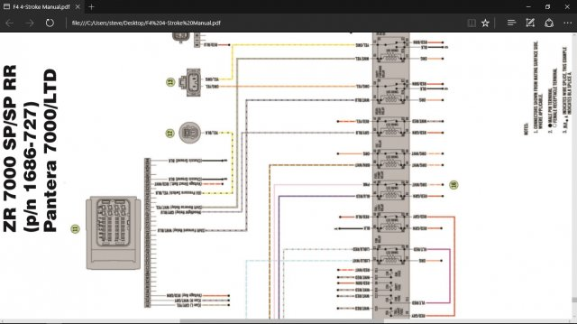 yamaha nytro wiring diagram anyone have a legable wire schematic ty4stroke snowmobile forum  anyone have a legable wire schematic
