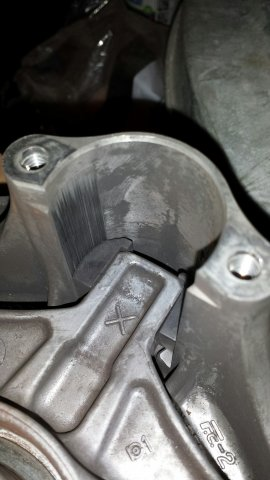 Clutch pics & video, before and after cleaning affect   TY4stroke