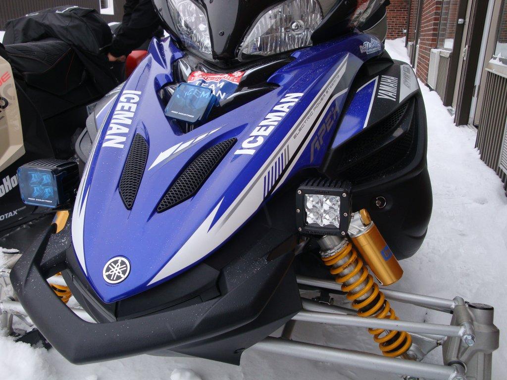 Led Light Bar Ty4stroke Snowmobile Forum Yamaha 4