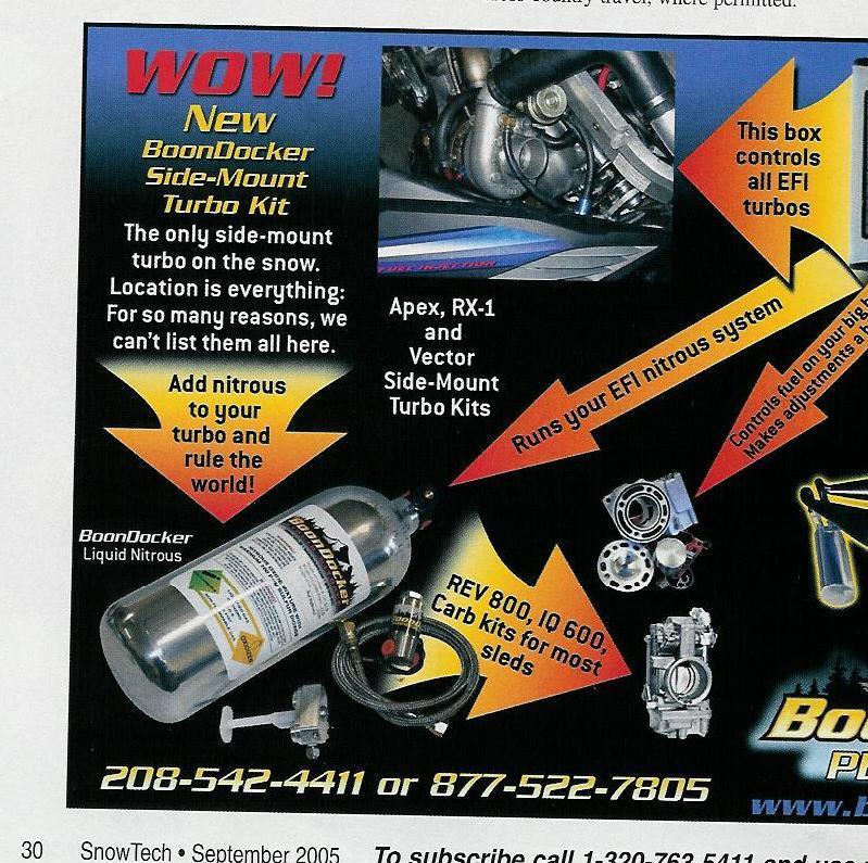 Boondocker 'side' mount turbo | TY4stroke: Snowmobile Forum | Yamaha