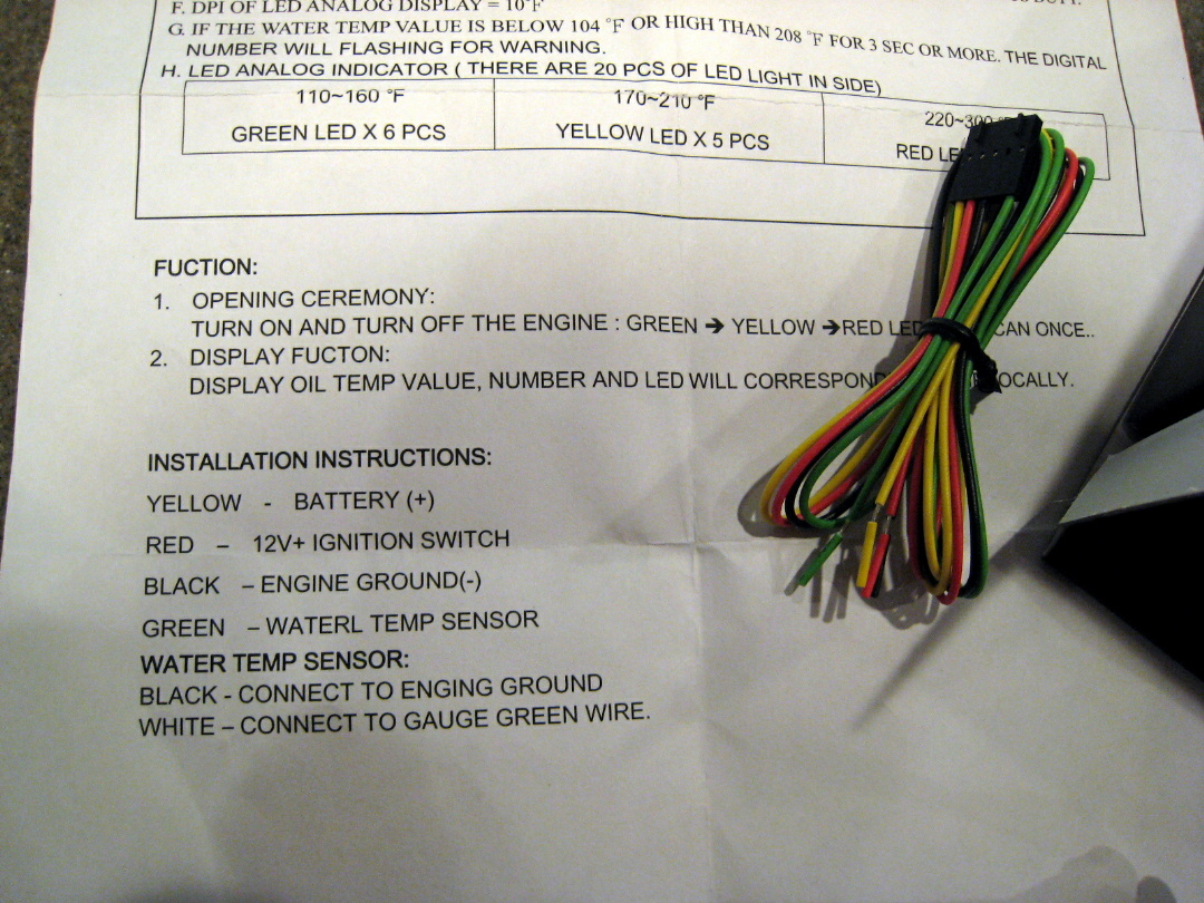 Water Temp Gauge Wiring S Ty4stroke Snowmobile Forum Yamaha Electrical Size File 412 Kb