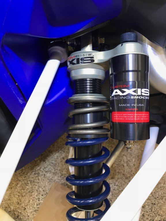 Bit the Bullet - Axis Shocks | Page 6 | TY4stroke: Snowmobile Forum