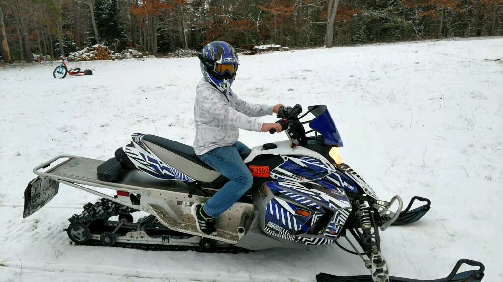 Added a phazer mtx to the stable ty4stroke snowmobile for Yamaha phazer 4 stroke