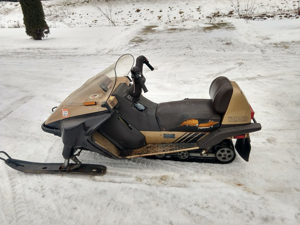 87 Inviter Good Buy Ty4stroke Snowmobile Forum Yamaha 4 Stroke