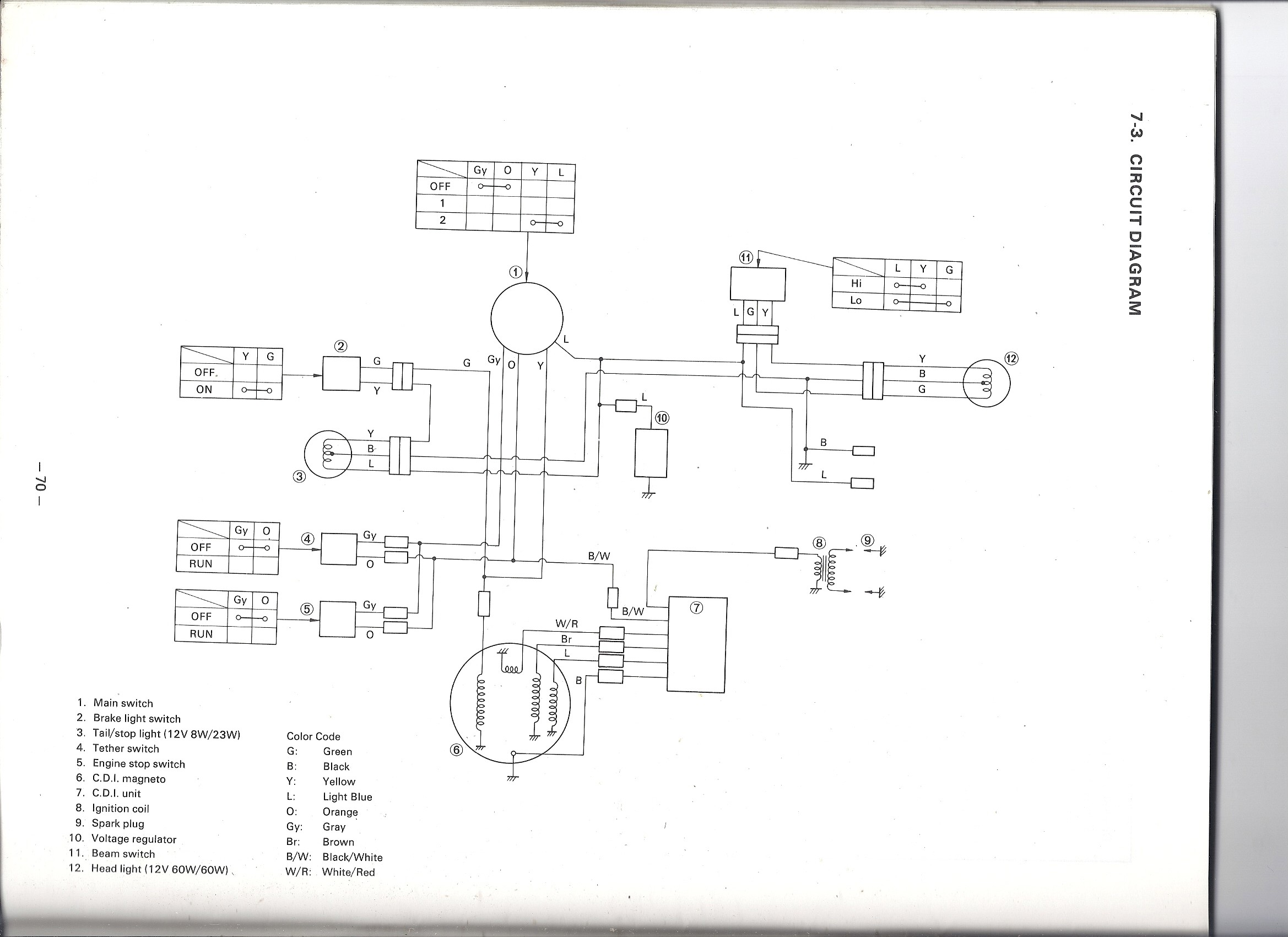 1979 Yamaha 250 Wiring Diagram Guide And Troubleshooting Of Xs1100 Free Picture Schematic 79 Enticer Wireing 33 650 Special