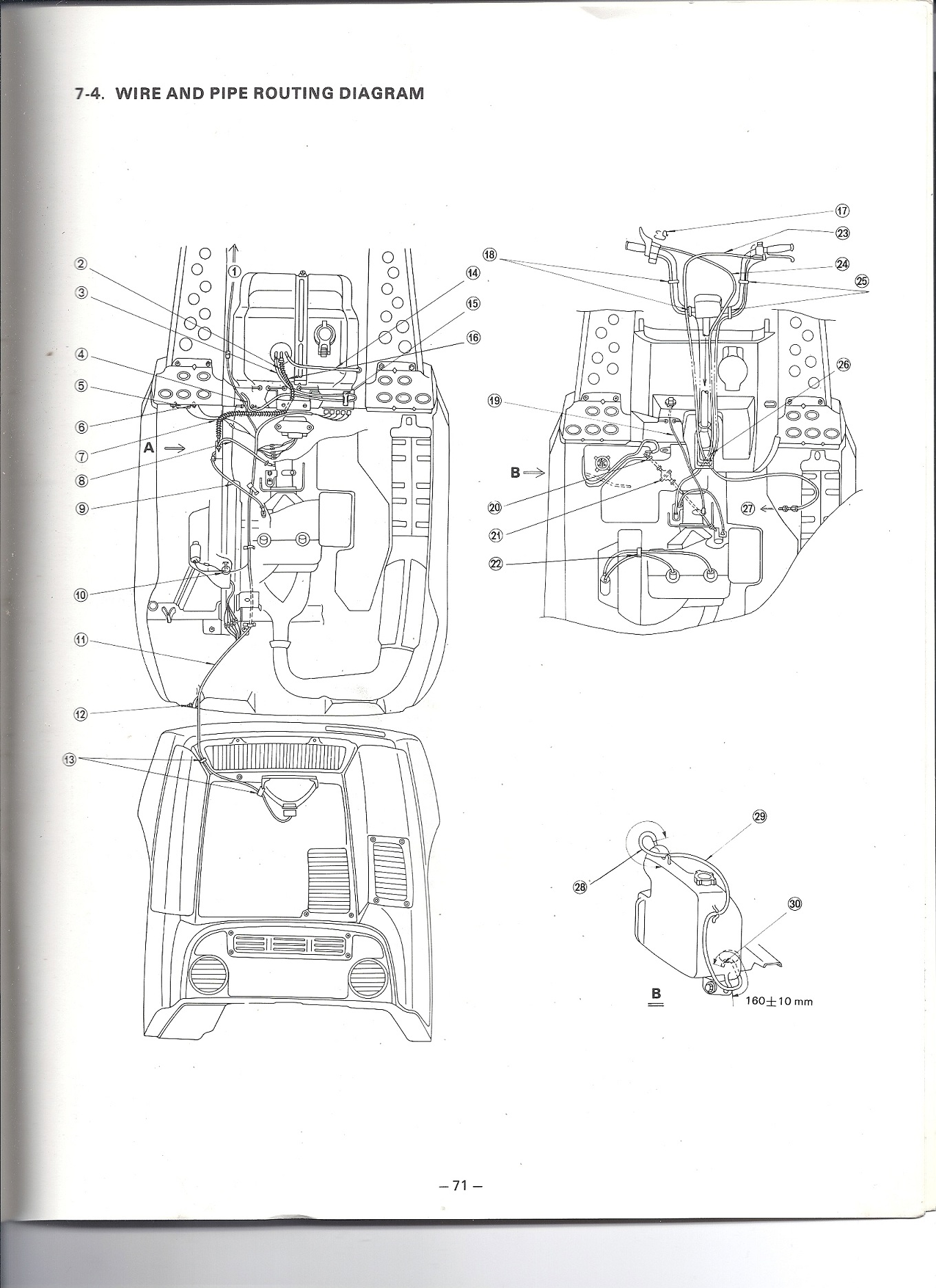 yamaha 250 enticer wiring diagram auto electrical wiring diagram u2022 rh 6weeks co uk 1978 yamaha enticer 250 wiring diagram