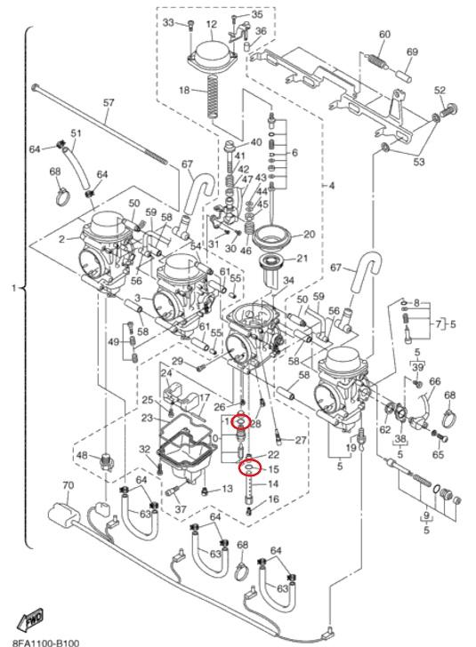 RX 1 carb overflow | TY4stroke: Snowmobile Forum | Yamaha - 4 Stroke