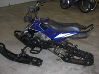 Homemade mini phazer ty4stroke snowmobile forum for Yamaha phazer 4 stroke