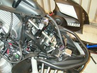 Storage Snowmobile Cover for Yamaha RS Viking Professional 2008 2009-12 13 14