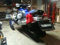 Yamaha Nytro Gas Caddy