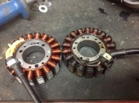Just finished stator install on RS Venture      arggghhh | TY4stroke